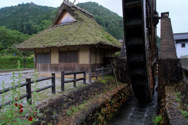 親子孫水車(夢すき公園)岡山県新見市神郷下神代
