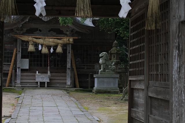 大神山神社~紫陽花(米子市尾高)