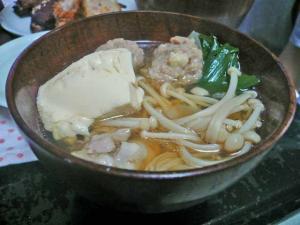 豚つくねミニ鍋