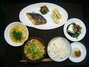 和定食(細木和子なっとう)