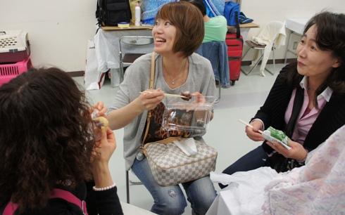 19)和菓子担当サニーママ(笑)