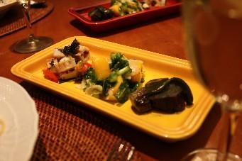 こぼれイクラの和風パスタ副菜