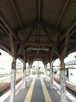 羽ノ浦駅ホーム