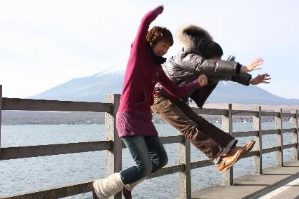 2012お正月富士山ジャンプ