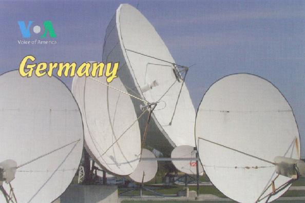 VOA Germany QSL