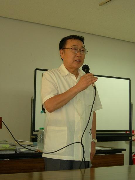 坂戸市長 伊利仁 氏が出席しました