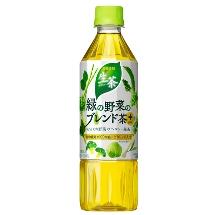 生茶 緑の野菜のブレンド茶 プラス