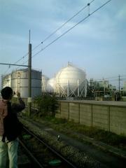 ガスタンクファン