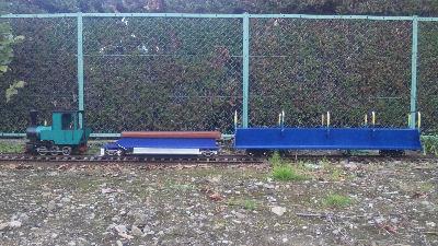 フォルテVer.MAZDAと運転台車と、おんぼろ軌道用鋼板製929型-1号客車