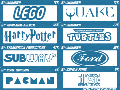 企業font