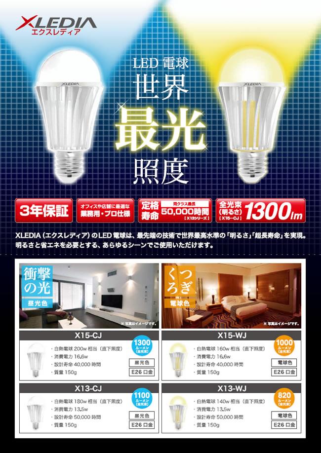 エクスレディア LED電球