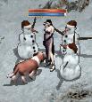 雪だるまの生贄