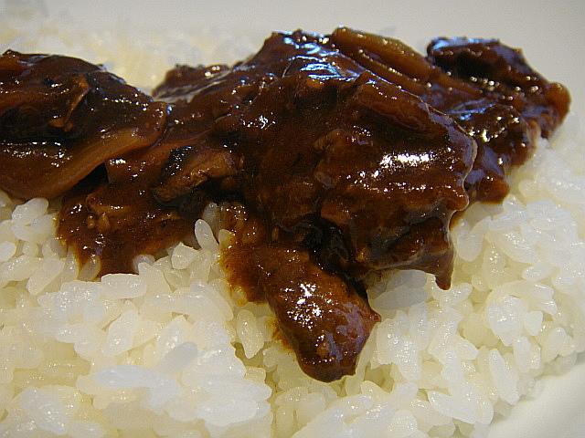 牛すじ肉のハヤシライス@キッチン さくらい