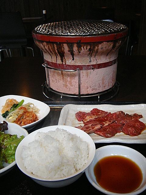 牛ハラミ焼き定食@すぐれ屋