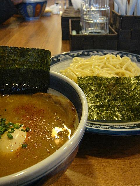 特製つけ麺(並盛)@浜屋
