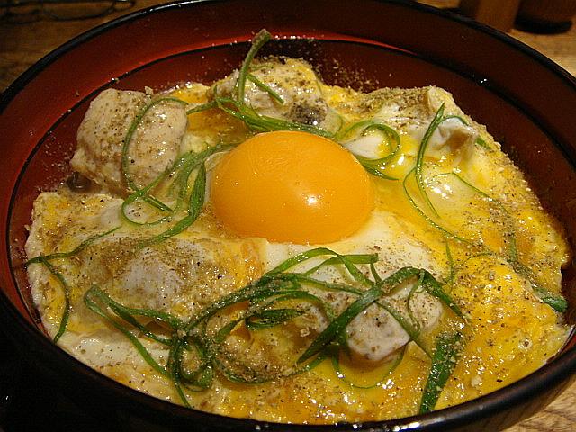山椒親子丼@鶏味座