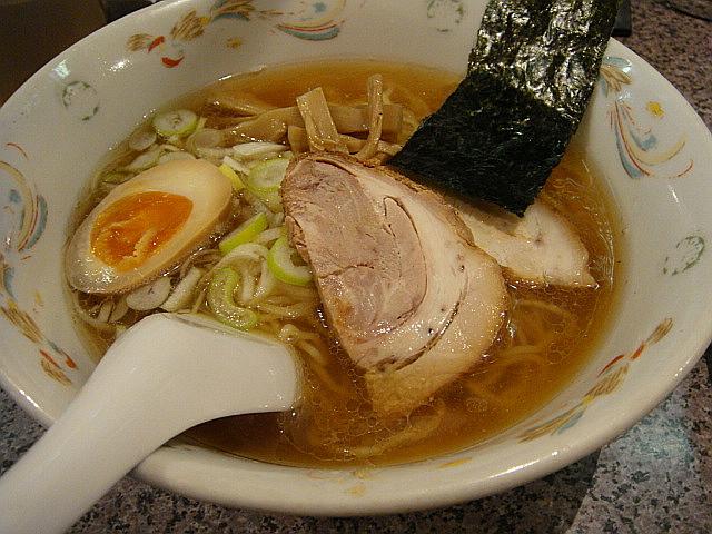 東京醤油ラーメン@ジョニー飯店