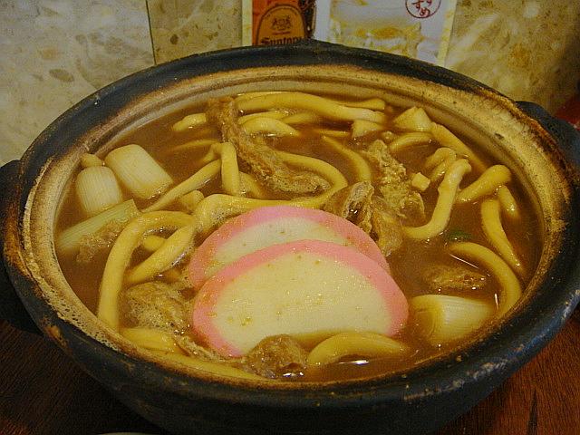 味噌煮込みうどん(かしわ入り)@山本屋総本家