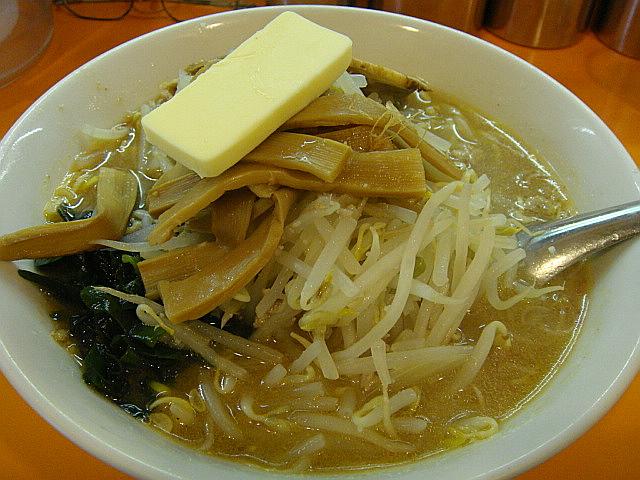 味噌ラーメン+バター@味噌ラーメン専門店えぞ菊