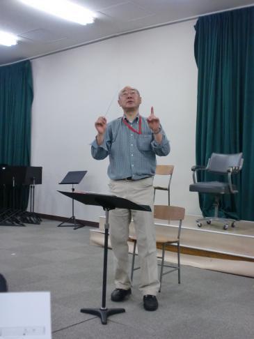 コンダクターの滝沢さん。いつもお世話になっています。