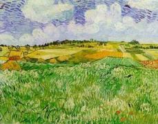 オーヴェールの平原