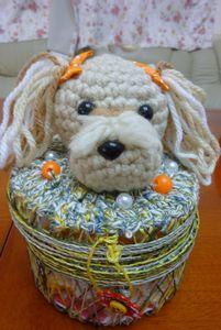 編みグルミボックス