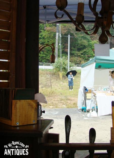京都亀岡YUMEMI Factory ドゥリムトン もぎとりセール アンティーク ブロカント