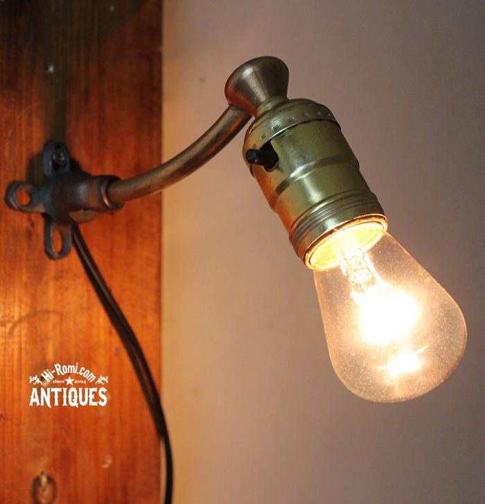 LEVITONソケット工業系ウォールランプ/アンティーク壁掛ライト 20120216-1