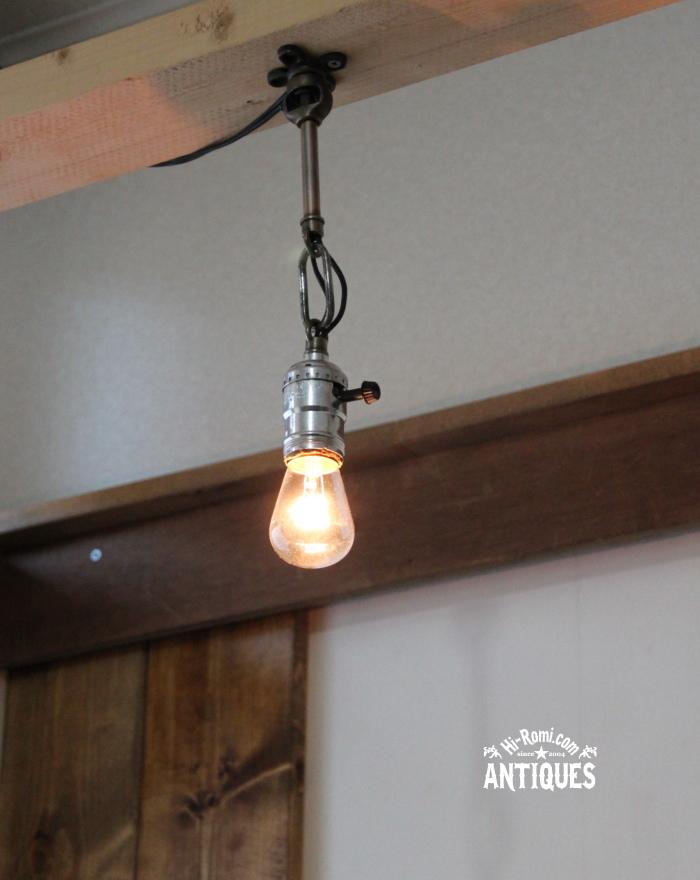 LEVITON工業系ウォールランプ兼用ペンダントライト/アンティーク 20121206-2