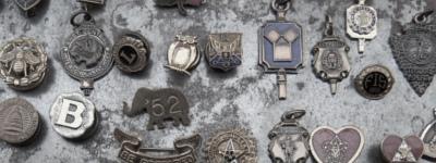 アンティークアクセサリー、ヴィンテージジュエリー、聖品、メダイ、クロス、ロザリオ