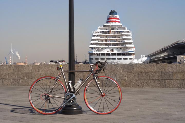 自転車のある光景