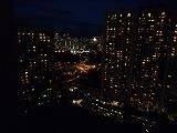 ヒルトン3003からの眺め(夜景)
