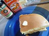 091023_ケーキのようなホットケーキ