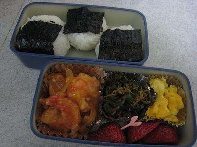 2011年12月8日のお弁当