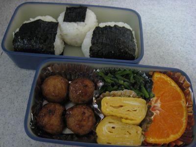 2011年12月9日のお弁当