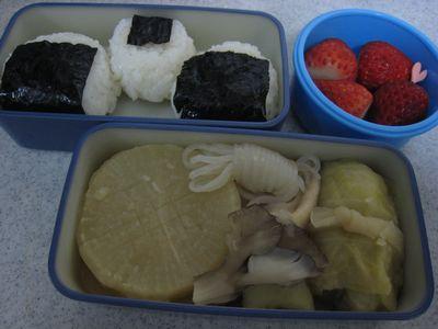 2012年2月7日のお弁当