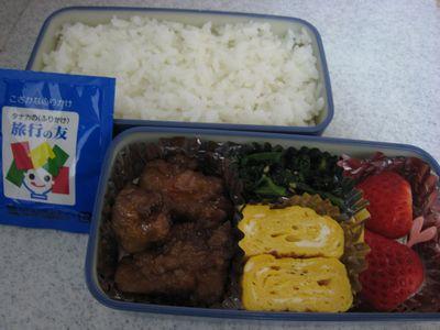 2012年3月6日のお弁当
