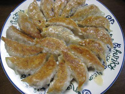 レンコン餃子