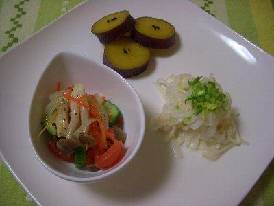サラダ3種♪