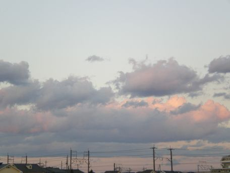 きれいな雲だね~。