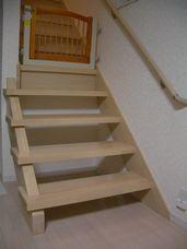 最初の階段ゲート。