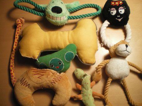 オペ後の、おもちゃ達。