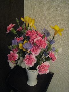リフォームした花
