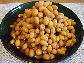 大豆の黄金煮