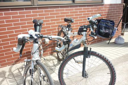 自転車ツーショット