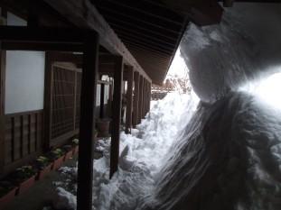 雪かき前2