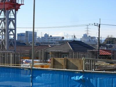 西口現場と富士2