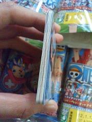 カードが真っ直ぐぴんぴん