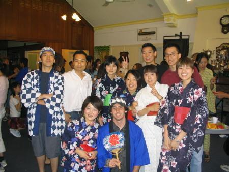 Kimono shot