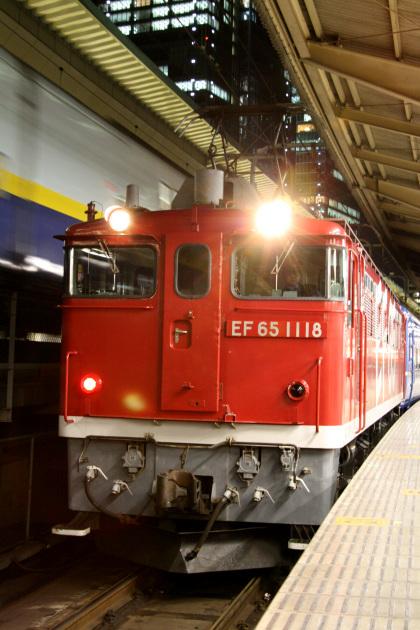 EF65 1118 レインボー